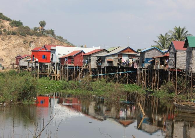 Stilt Houses Cambodia
