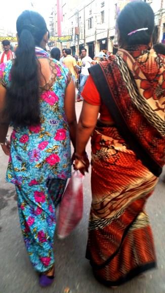 Colorful Saris in Varanasi