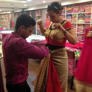 Fun Day Sari Shopping!