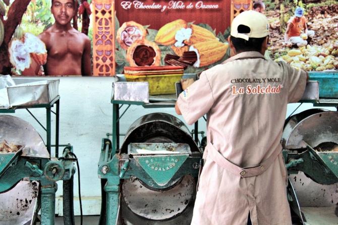 Oaxaca Chocolate makers!